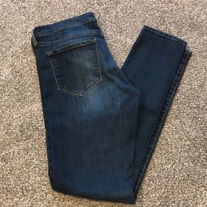 "Banana Republic skinny jeans 8/29 w 31"" inseam"